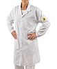 EUROSTAT White Women Lab Coat, XL
