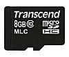 Transcend microSDHC Class 10 MicroSD Industrial 8 GB