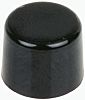 Black Push Button Cap, for use with E020