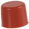 Red Push Button Cap, for use with E010