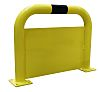 RS PRO Black & Yellow Barrier & Stanchion,