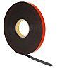 3M 5962F, VHB™ Black Foam Tape, 12mm x