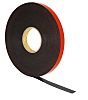 3M 5962F, VHB™ Black Foam Tape, 25mm x