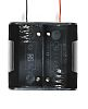 Takachi Electric Industrial D Battery Holder, Button &