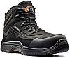V12 Footwear Caiman Sicherheitsstiefel schwarz, mit Zehen-Schutzkappe EN20345 S3, Größe 42 / UK 8
