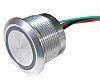 Capacitive Push Button Switch, Lock ,Illuminated, RGB, IP68