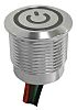 Capacitive Push Button Switch, Momentary ,Illuminated, RGB, IP68