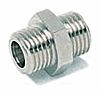 RS PRO Straight Brass Hose Connector, 1/8 in