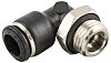 RS PRO Threaded-to-Tube Swivel Elbow Adaptor R 3/8