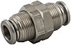 RS PRO Bulkhead Connector, Push In 4 mm,