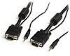 Startech Mini-Jack, VGA to Mini-Jack, VGA cable, Male