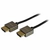 2m High End Metal HDMI Cable - Thin
