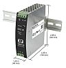 XP Power DSR120, DIN Rail Power Supply -