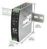 XP Power DSR120, DIN Rail Power Supply -