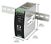 XP Power DSR240, DIN Rail Power Supply -