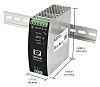 XP Power DSR240 DIN Rail Power Supply 85