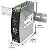 XP Power DSR75 DIN Rail Power Supply 85