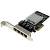 Startech 4 Port PCIe Network Interface Card