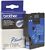 BROTHER Black on Blue Label Printer Tape, 12