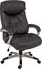 RS PRO Faux Leather Executive Chair Black