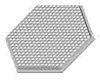 Polymer Optics 161 LED Lens, 50 ° Wide