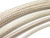 RS PRO Expandable Braided Tin Plated Copper Cable Sleeve, 10mm Diameter, 100m Length