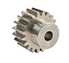 RS PRO Steel 14 Teeth Spur Gear, 14mm