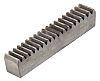 RS PRO Steel Gear Rack, 1000mm Long ,