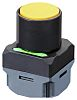 Omron A2W Yellow Push Button Complete Unit