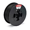 RS PRO 1.75mm Black PLA Matt 3D Printer