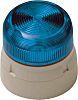 Klaxon Blue LED Beacon, 230 V ac, Base