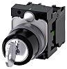 Siemens 3SU1130 3 positions Plastic Screw Key Switch