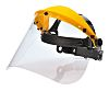 RS PRO Clear Flip Up PC Face Shield