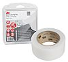 3M 4411N Ionomer Translucent Duct Tape, 50mm x