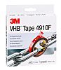 3M 4910F, VHB™ Clear Foam Tape, 19mm x