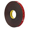 3M 5952F, VHB™ Black Double Sided Foam Tape,