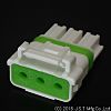 JST, WPJ Female Connector Housing, 5mm Pitch, 3