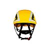 SecureFit™ Adjustable Yellow Hard Hat with Chin Strap,