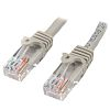 Startech Grey PVC Cat5e Cable UTP, 7m Male