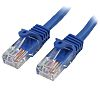 Startech Blue PVC Cat5e Cable UTP, 3m Male