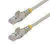 Startech Grey PVC Cat5e Cable UTP, 10m Male