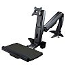 Startech Sit Stand Monitor Arm, Max 24in Monitor
