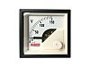 RS PRO Analogue Panel Ammeter AC, 48mm x