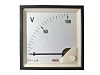 RS PRO Analogue Panel Ammeter DC, 96mm x