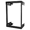 15U Server Rack With Steel 2-Post Frame in