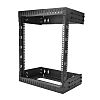 12U Server Rack With Steel 2-Post Frame in