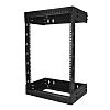 15U Server Rack With Steel 2-Post Frame in