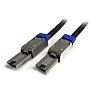 Startech 2m, SFF-8088 (26-Pin, External Mini-SAS) Latching Plug