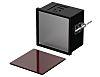 Bopla Uninorm (Set), Black Polyphenylene Ether, Polystyrene