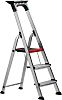RS PRO Aluminium 3 steps Step Ladder, 0.616m